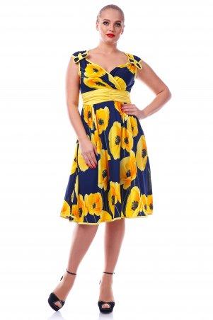 Alpama. Платье желтое. Артикул: SO-10802-YLW
