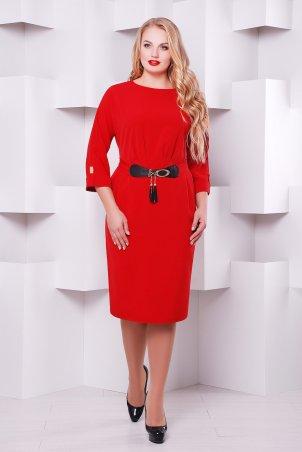 Vlavi. Нарядное женское платье Тэйлор красное. Артикул: 1133