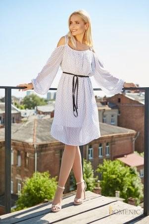 Domenica. Романтичное платье в мелкий горошек. Артикул: Р 2208