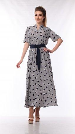 Alpama. Платье серое. Артикул: SO-13438-GRY