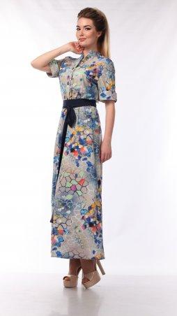 Alpama. Платье мозайка. Артикул: SO-13438-MOZ