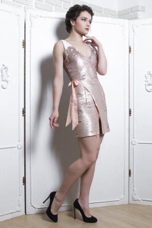 Vintages. Платье - Салют пайетка персик. Артикул: 397