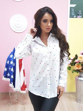 Paetka: Рубашка с модным принтом 652 - главное фото