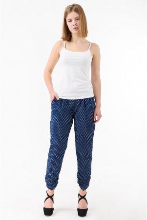 Caramella. Летние женские брюки. Артикул: CR-10147-9 синий