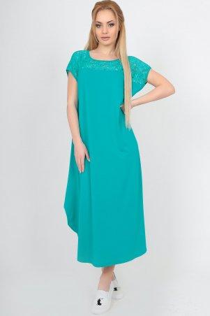 V&V. Платье 2481-2 морская волна. Артикул: 2481-2.17