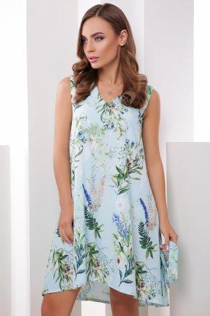 MarSe. Платье. Артикул: 1785 голубой