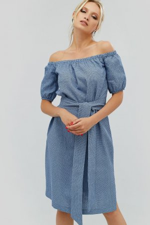"""Nomes. Платье """"MOKS"""" темно-синий. Артикул: NMS1714-0863"""