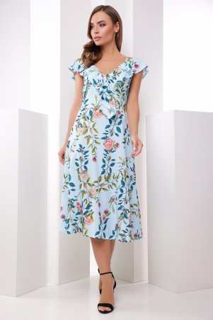MarSe. Платье. Артикул: 1788 голубой