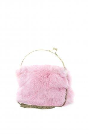 """Daminika. Меховая сумка """"Pink"""". Артикул: 71802 R"""