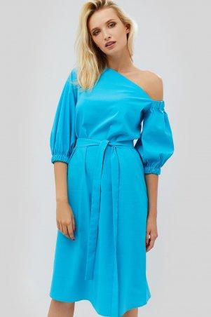 "Nomes. Платье ""TANA"" бирюзовый. Артикул: NMS1814-1791"