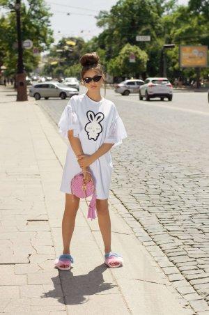 "Daminika. Платье-футболка ""Rabbit"". Артикул: 11822 W"