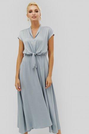 "Nomes. Платье ""DERIAN"" серый. Артикул: NMS1814-1463"