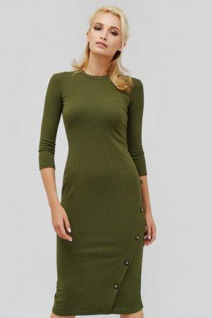 """Cardo. Платье """"MATIAS"""" оливковый. Артикул: CRD1804-1841"""