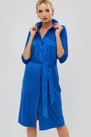 "Nomes. Платье ""IKOS"" синий. Артикул: NMS1814-1741"
