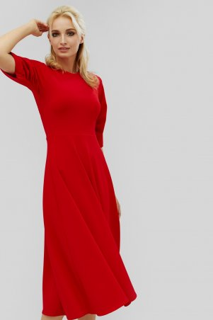 "Nomes. Платье ""KARIS"" красный. Артикул: NMS1814-1851"
