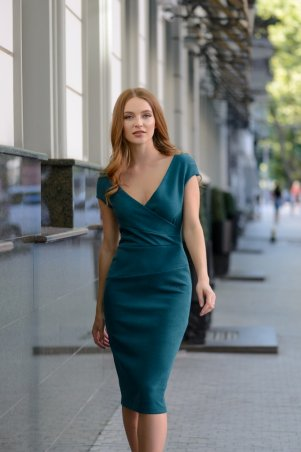ArtJ. Платье в синюю полоску . Артикул: 3411