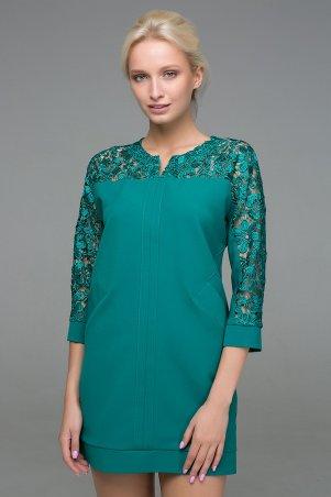 Zefir. Платье с карманами. Артикул: BELL зеленое