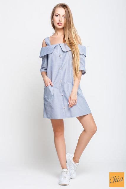 Платье PN 697 PN697 от , цвет синий