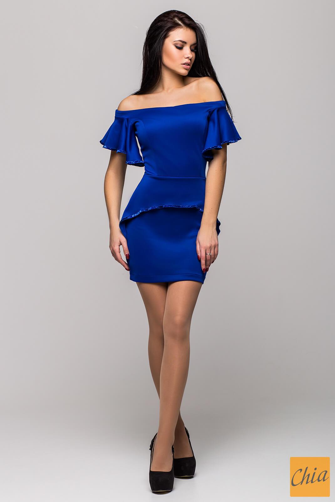 Платье PK 1064 PK1064 от , цвет электрик