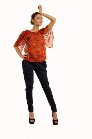 Lilo: Шифоновая блузка с широкими рукавами 270 - главное фото