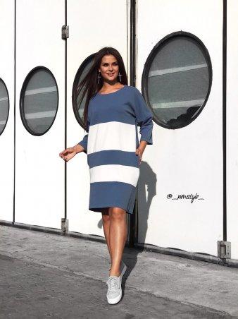 New Style. Платье. Артикул: 1291_джинс_серый