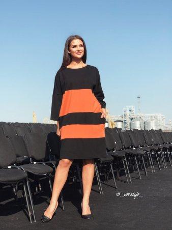 New Style. Платье. Артикул: 1291_кирпичный