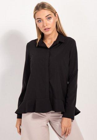 Bessa. Рубашка асимметричная с воланом. Артикул: 2451