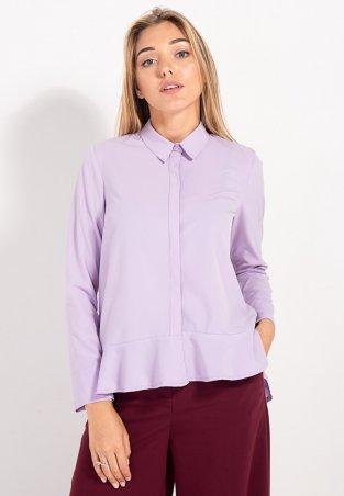 Bessa. Рубашка асимметричная с воланом. Артикул: 2448