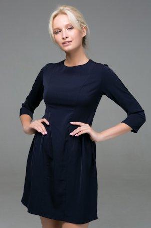 Zefir. Платье с пышной юбкой. Артикул: LOFT темно-синее