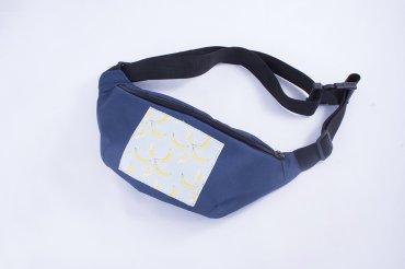 Reform. Поясная сумка (бананка)  синяя. Артикул: a.SB10