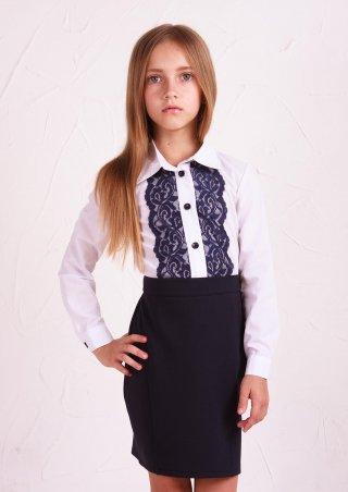 Sofia Shelest. Рубашка №3 синее кружево. Артикул: РУ0551