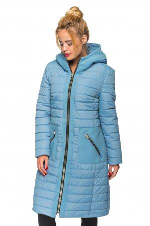 KARIANT. Женская зимняя куртка Голубой. Артикул: Эмма голубой