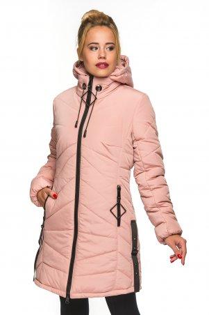 KARIANT. Женская зимняя куртка Пудра. Артикул: Амина пудра