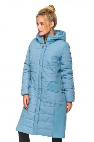 KARIANT. Женская зимняя куртка Голубой. Артикул: Хлоя голубой