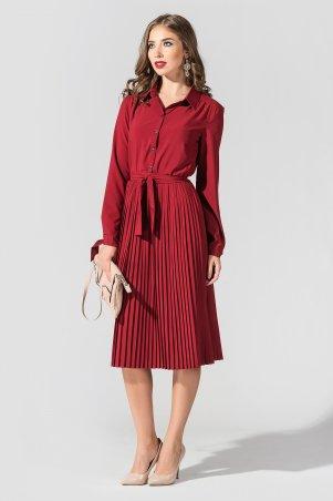 """TessDress. Платье с плиссированной юбкой """"Вивея"""". Артикул: 1622"""