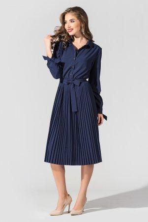 """TessDress. Платье с плиссированной юбкой """"Вивея"""". Артикул: 1597"""