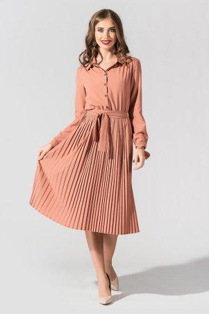 """TessDress. Платье с плиссированной юбкой """"Вивея"""". Артикул: 1595"""