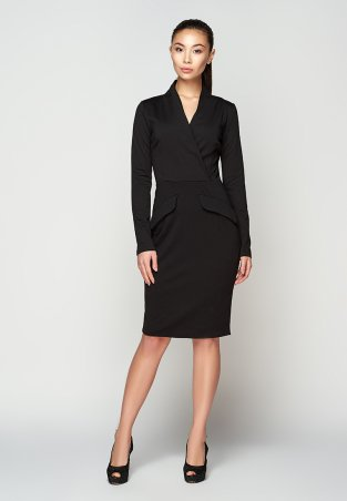A-Dress. Черное маленькое платье с декольте. Артикул: 707321