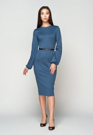A-Dress. Изысканное платье благородного синего цвета. Артикул: 707211