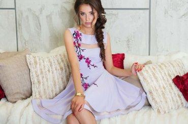 "Daminika: Романтичное платье ""Сакура"" 11815 L - главное фото"
