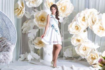 "Daminika: Романтичное платье ""Сакура"" 11815 W - главное фото"
