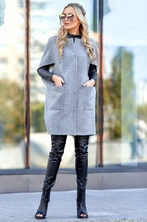 Jadone Fashion. Жилет-кейп. Артикул: Чизара М4