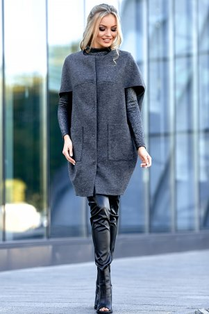 Jadone Fashion. Жилет-кейп. Артикул: Чизара М3