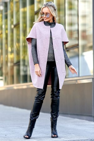 Jadone Fashion. Жилет-кейп. Артикул: Чизара М2