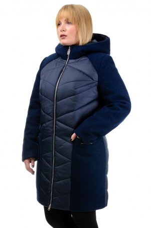 A.G.. Зимняя куртка-парка «Ингрида». Артикул: 225 т.синий