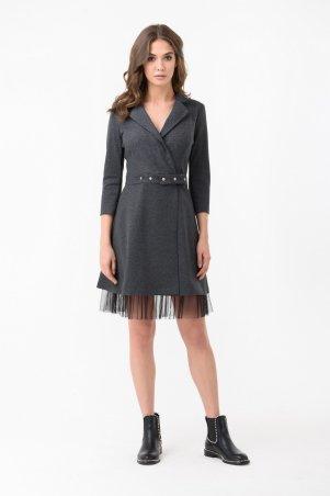 RicaMare. Осеннее платье на запах. Артикул: RM1892-18DD