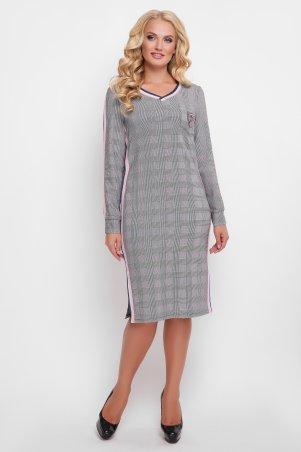 Vlavi. Платье Виталина розовая полоса. Артикул: 1199