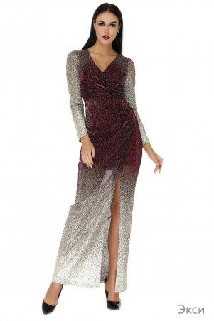 Angel PROVOCATION. Платье. Артикул: Экси марсал+золото