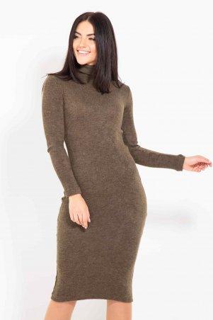 Bessa. Платье с воротником гольф. Артикул: 1699