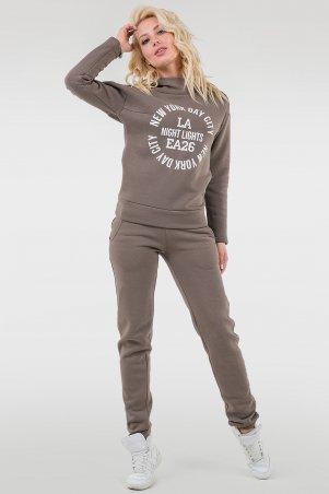 V&V. Спорт костюм женский 055 мокко флис. Артикул: 055